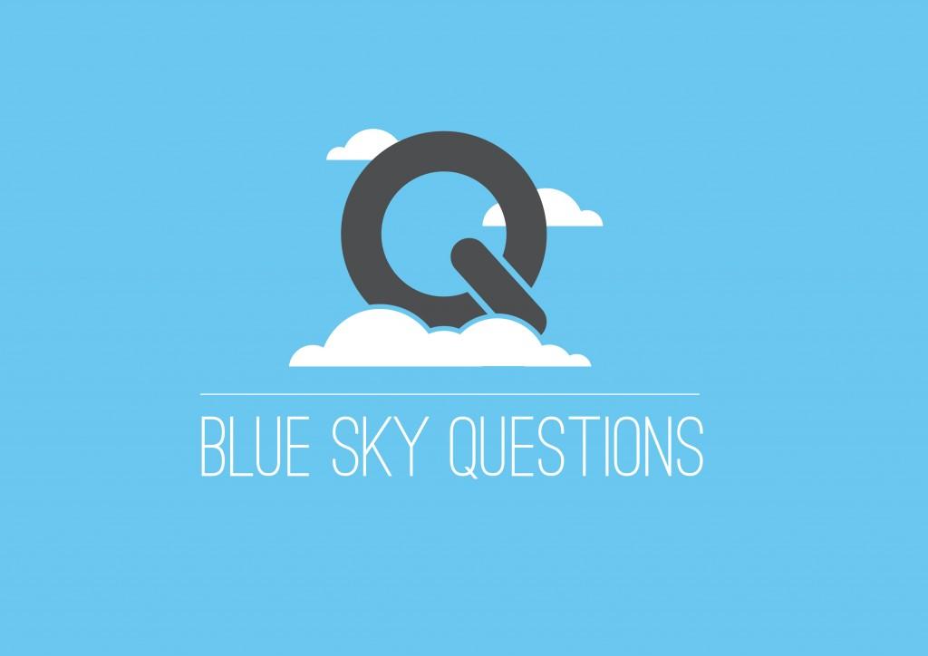 Blue Sky Questions Logo Concepts