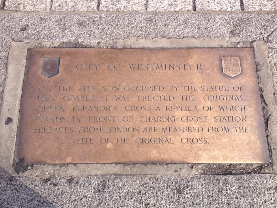 Charing Cross plaque
