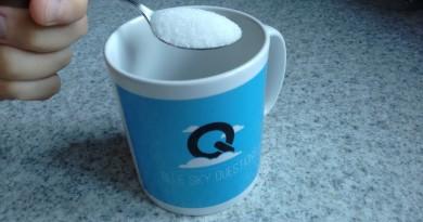 Blue Sky Questions mug